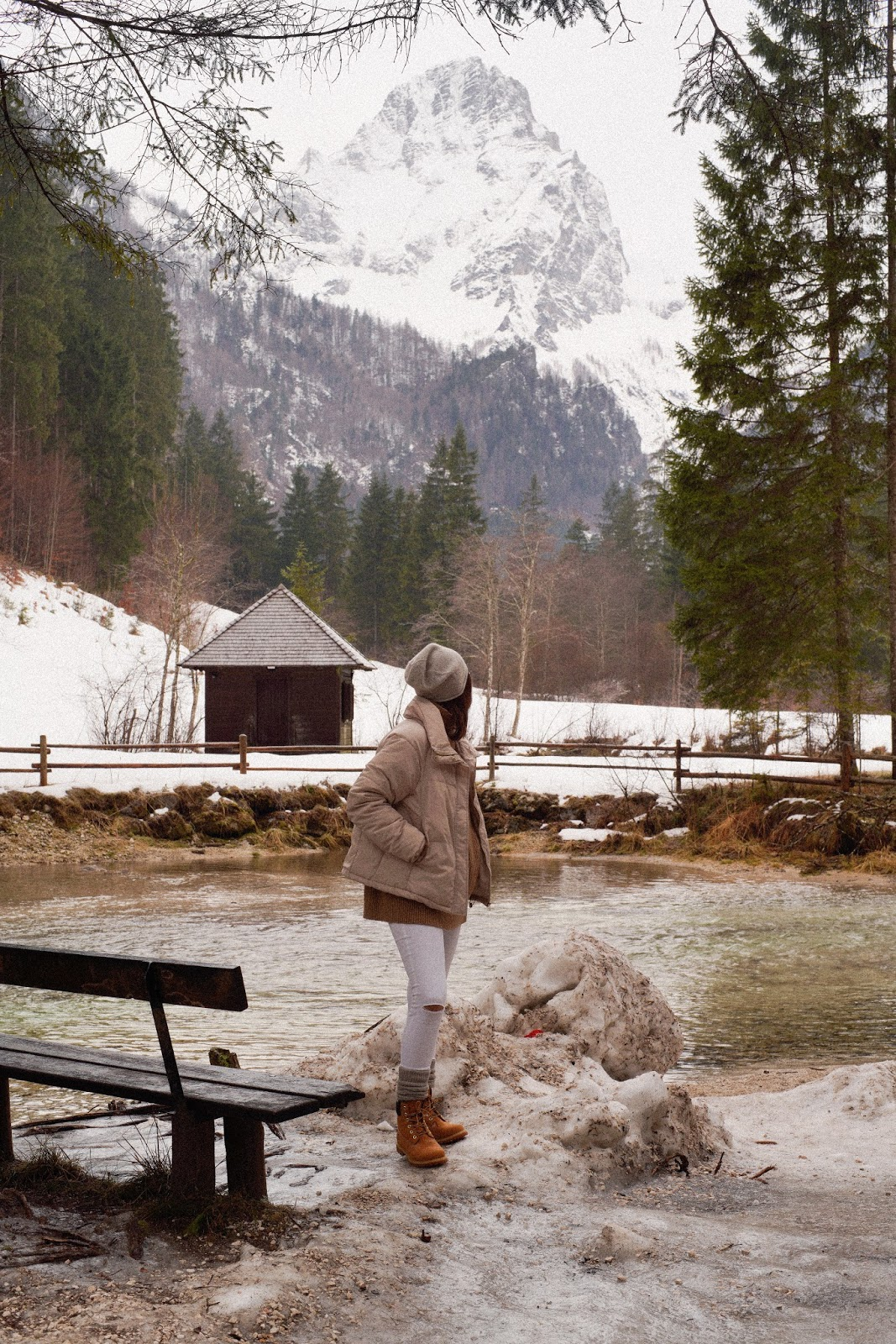 SCHIEDERWEIHER: Winterwanderung in Hinterstoder