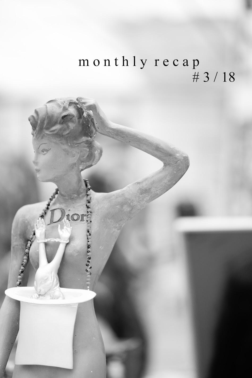 MONTHLY RECAP #3