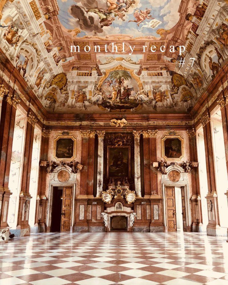 MONTHLY RECAP #7: Rückblick Juli