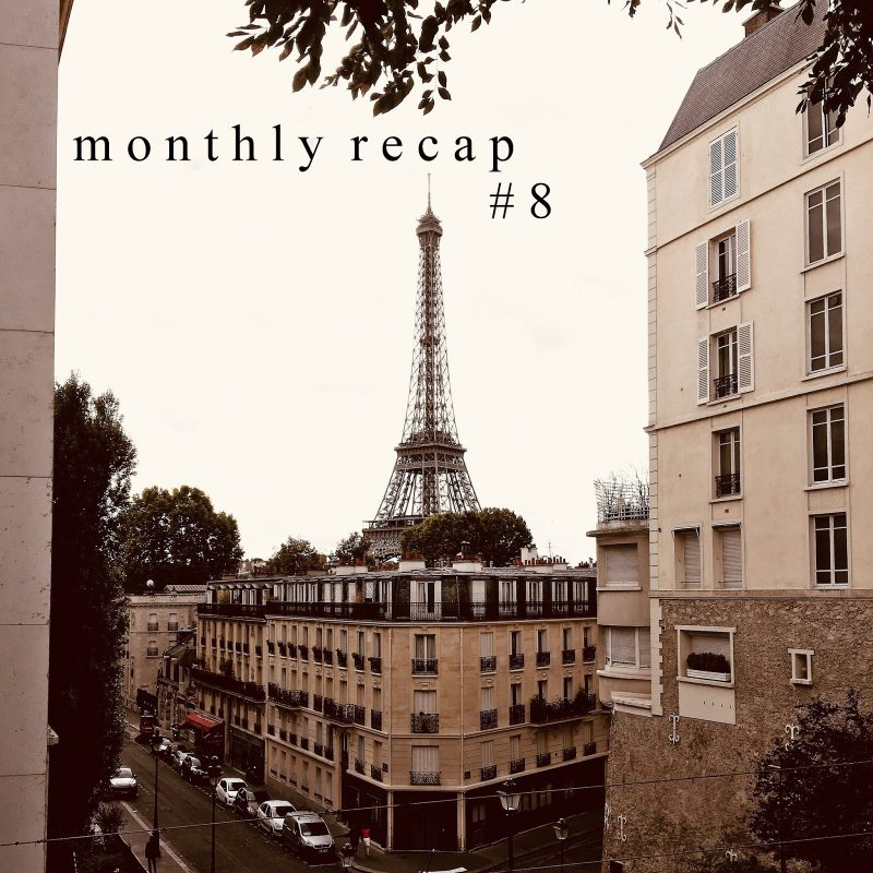 MONTHLY RECAP #8: Rückblick August