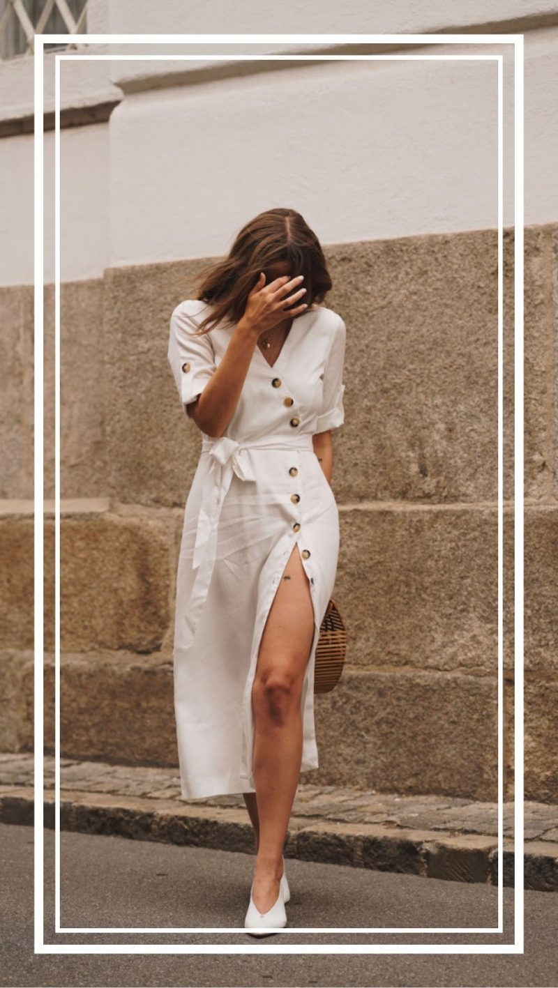 THE BUTTON DOWN DRESS